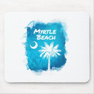 Palmetto Paint Splatter Mouse Pad