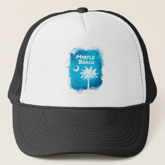 Palmetto Paint Splatter Trucker Hat