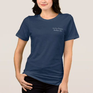 "Palmetto Tree ""Southern Girl"" Logo, Relaxed Fit T-Shirt"