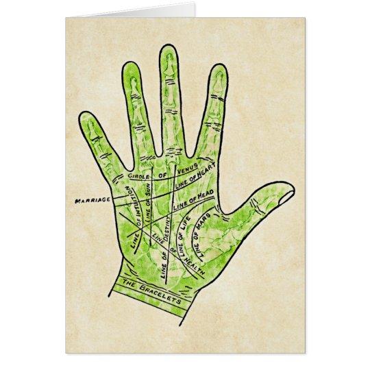 Palmistry Card