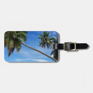 Palms 3 luggage tag