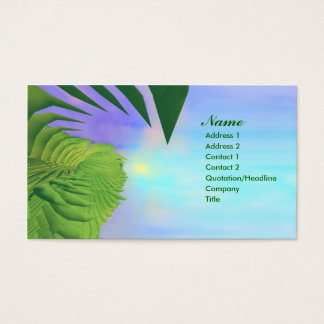 Palms Above - Business Business Card