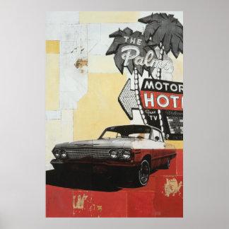 Palms Motor Hotel Print