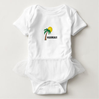 palms of hawaii baby bodysuit