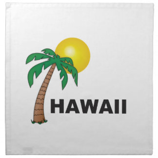 palms of hawaii napkin