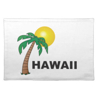 palms of hawaii placemat
