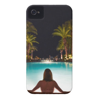 Palms, pool, woman and beer... iPhone 4 covers