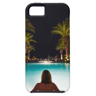 Palms, pool, woman and beer... iPhone 5 case