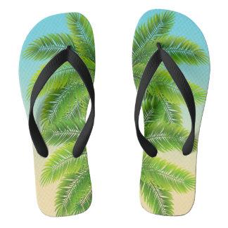 Palms Up Flip Flops