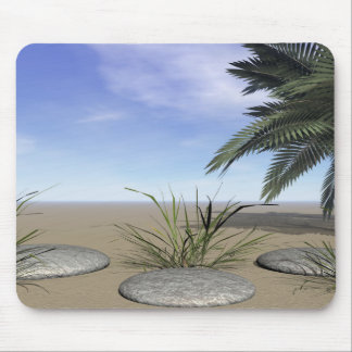 palms zen and steps mouse pad
