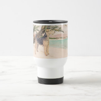 Palmy Beach Travel Mug