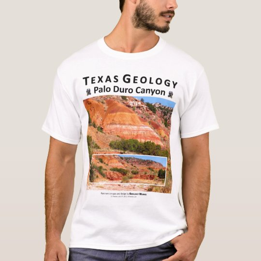 Palo Duro Canyon II - View from a Creek Bed T-Shirt