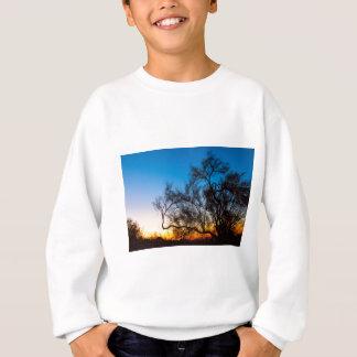 Palo Verde Tree Silhouette Sunrise Sweatshirt