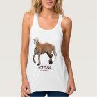 Palomino Belgian Draught   Horse-lover Apparel Tank Top