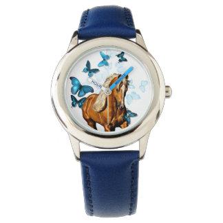 Palomino & Butterflies Watch
