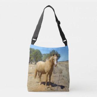 Palomino Horse Beauty Watching, Crossbody Bag
