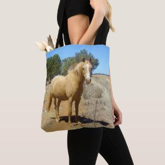 Palomino Horse Beauty Watching, Tote Bag