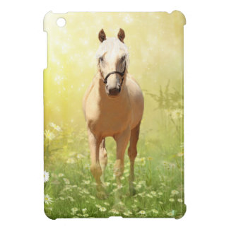 Palomino horse iPad mini case