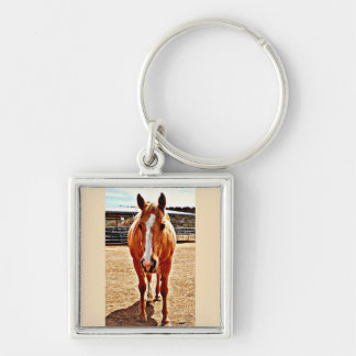 Palomino Horse Key Chain