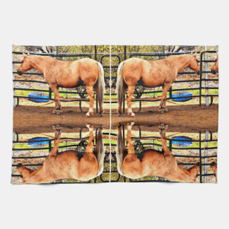 Palomino Horse Kitchen Towel