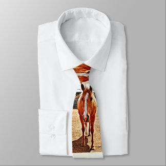 Palomino Horse Men's Tie