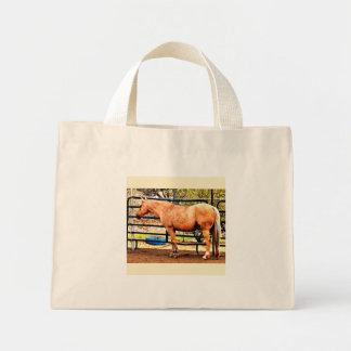 Palomino Horse Tote Bag