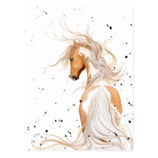 Palomino Paint Majestic by BiHrLe Postcard