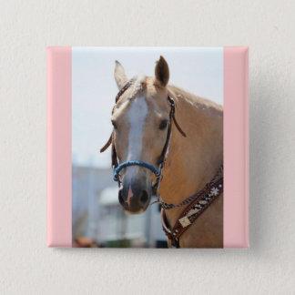 Palomino Pic 2 Inch Square Button
