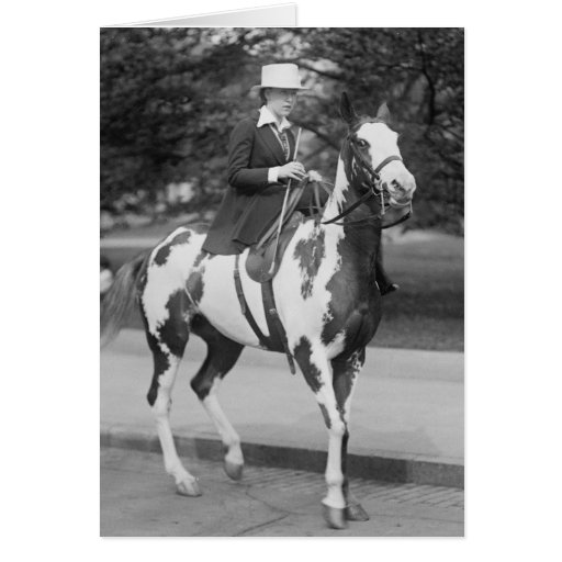 Palomino Pony, 1915 Card