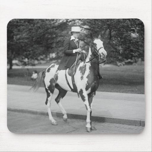 Palomino Pony, 1915 Mouse Pads