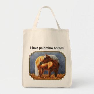 Palomino Quarter Horse Tote Bag