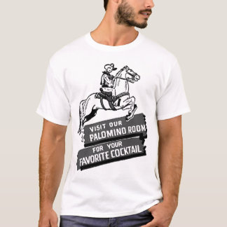 Palomino Room Vintage Cocktail Lounge Ad T-Shirt