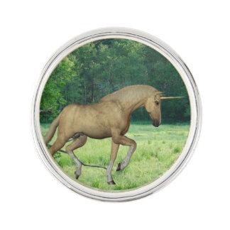 Palomino Unicorn Lapel Pin