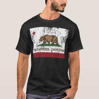 palos verdes california state flag T-Shirt