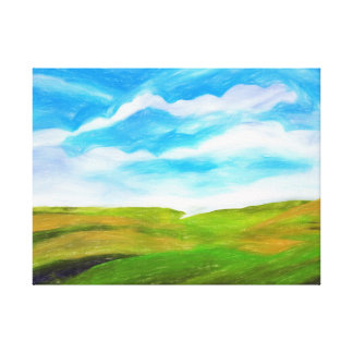 Palouse Canvas Print