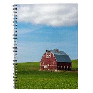 Palouse Country Barn - Eastern Washington Notebooks