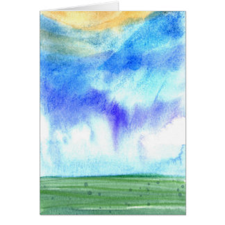 Palouse Morning 2 Card