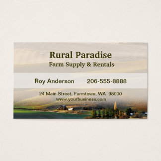 Palouse Sunrise Business Card