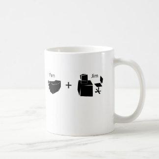 Pam + Jim Coffee Mug