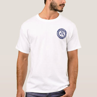 pam logo small, Blue&White Logo 1 T-Shirt