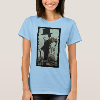 "Pam Moore--- Baby doll Medium brown ""Director"" T-Shirt"