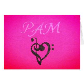 Pam Notecards Card