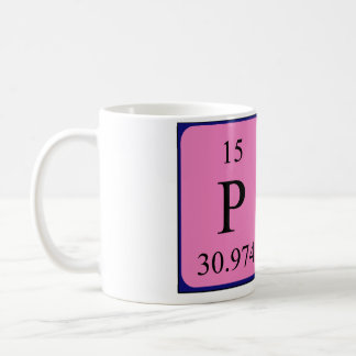 Pam periodic table name mug