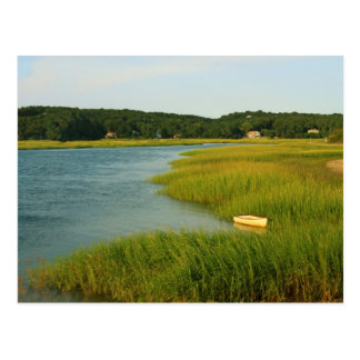 Pamet River Truro Cape Cod Postcard
