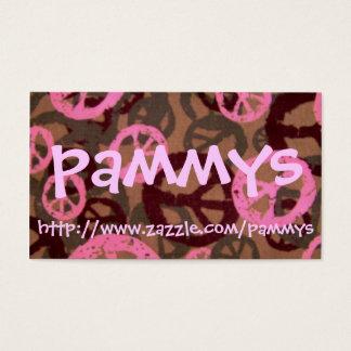 pammys, http://www.zazzle.com/pammys business card
