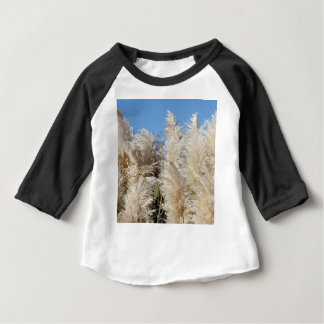 Pampas Grass with a Sunny Blue Sky Baby T-Shirt