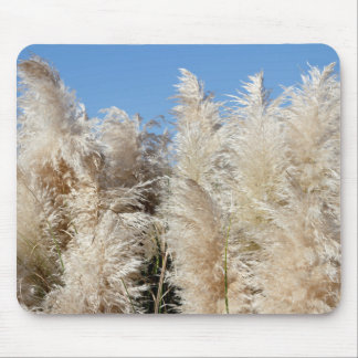 Pampas Grass with a Sunny Blue Sky Mouse Pad