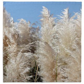 Pampas Grass with a Sunny Blue Sky Napkin