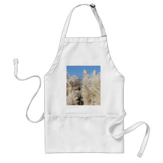 Pampas Grass with a Sunny Blue Sky Standard Apron