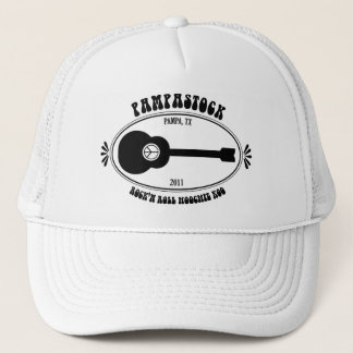 Pampastock  2011 Guitar Logo Trucker Hat